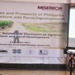 DAR Secretary Gil de los Reyes gives updates of the implementation of CARPER and the prospects of Philippine agrarian reform program. Photo by CARRD.