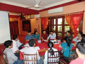 Planning workshop: Cambodia group